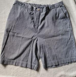 Lands' end Plus Sz 22w Stripped Shorts